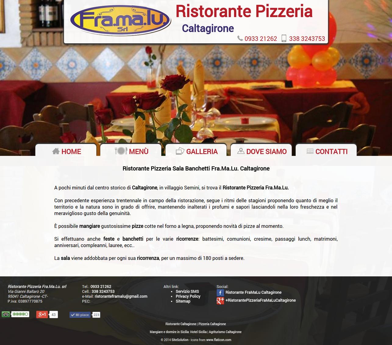 Ristorante FraMaLu Caltagirone