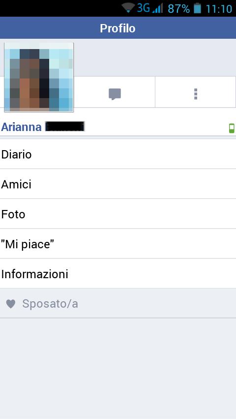 Facebook vedere stato on line persona