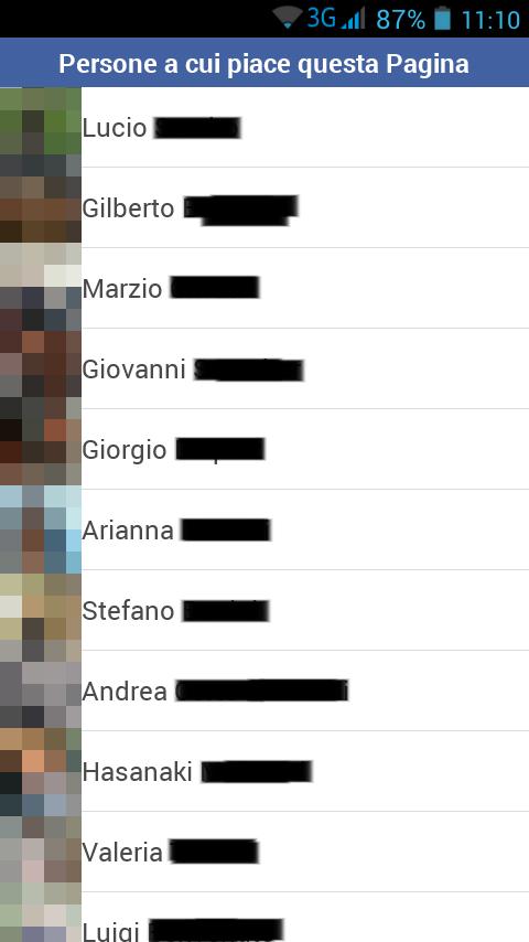 Facebook vedere persone mi piace pagina